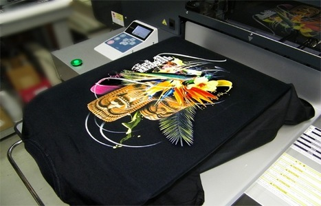 stampa digitale direct to garmet su maglia nera