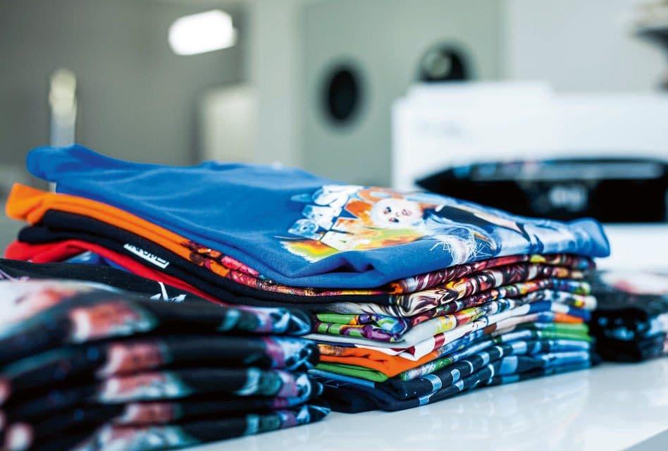 stampa digitale direct to garmet maglie stampate